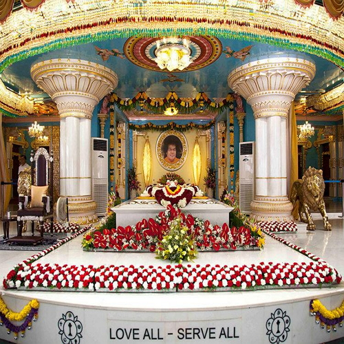 """ Prashanti Nilayam Of Satya Sai @ Puttaparthi As Per Vastu & Fengshui as per vastu and fengshui by best Astrologer and Vastu consultant in Pune, India"""